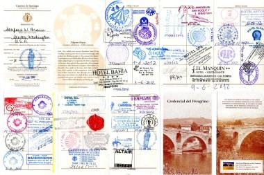 2012 Credential from Camino del Norte
