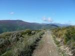 Climb up through mountains to El Acebo