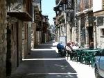 Pilgrim avenue in Molinaseca