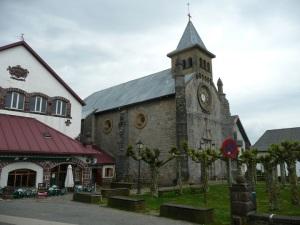 Church at Burguete