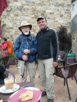 Daniel, former priest, on his 8th camino