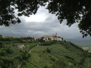 Lovely vista of Trevi