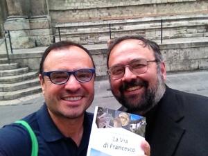 Don Paolo Giulietti, fellow pilgrim and priest