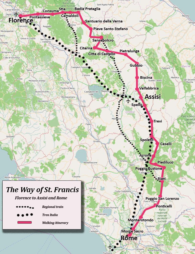 St Francis Way Caminoist