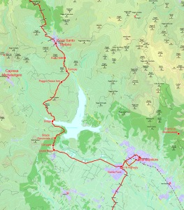 Sample map, this one from Stage 8.