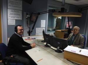 Radio interview for Premier Radio's drive-time show.